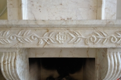 Clean and Restore Marble Fireplace