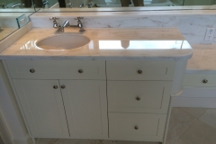 Polished Marble Vanity Counter