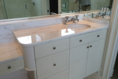 Polished Marble Vanity