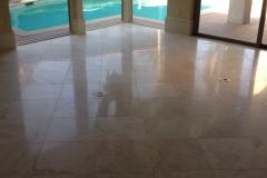 Polish Travertine Floor