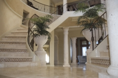 Restored Polished Marble Staircase