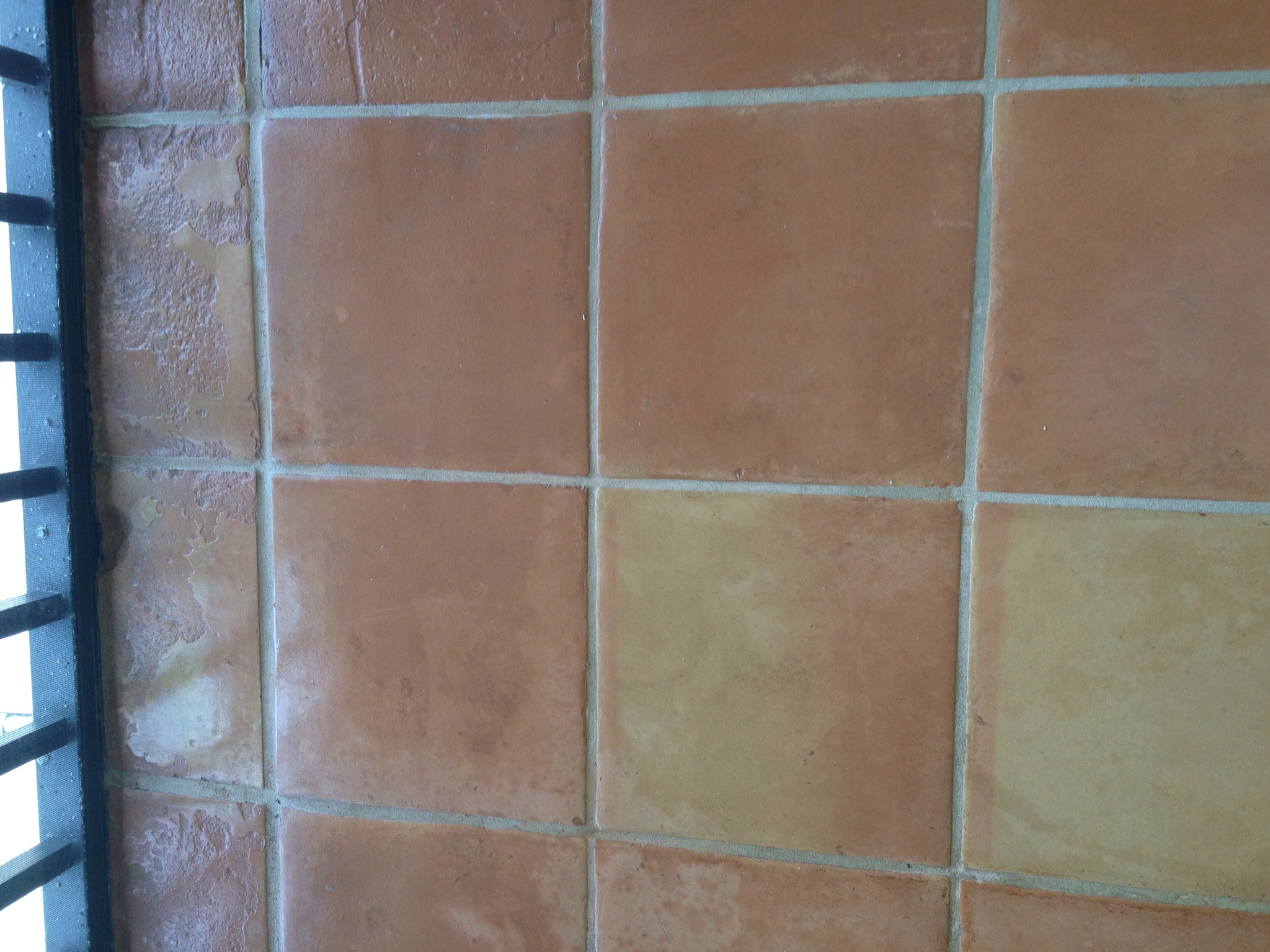 Terra Cotta Tile Cleaning And Sealing Handmade Mexican