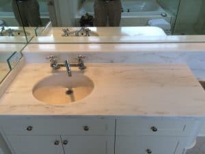 marble counter top restoration