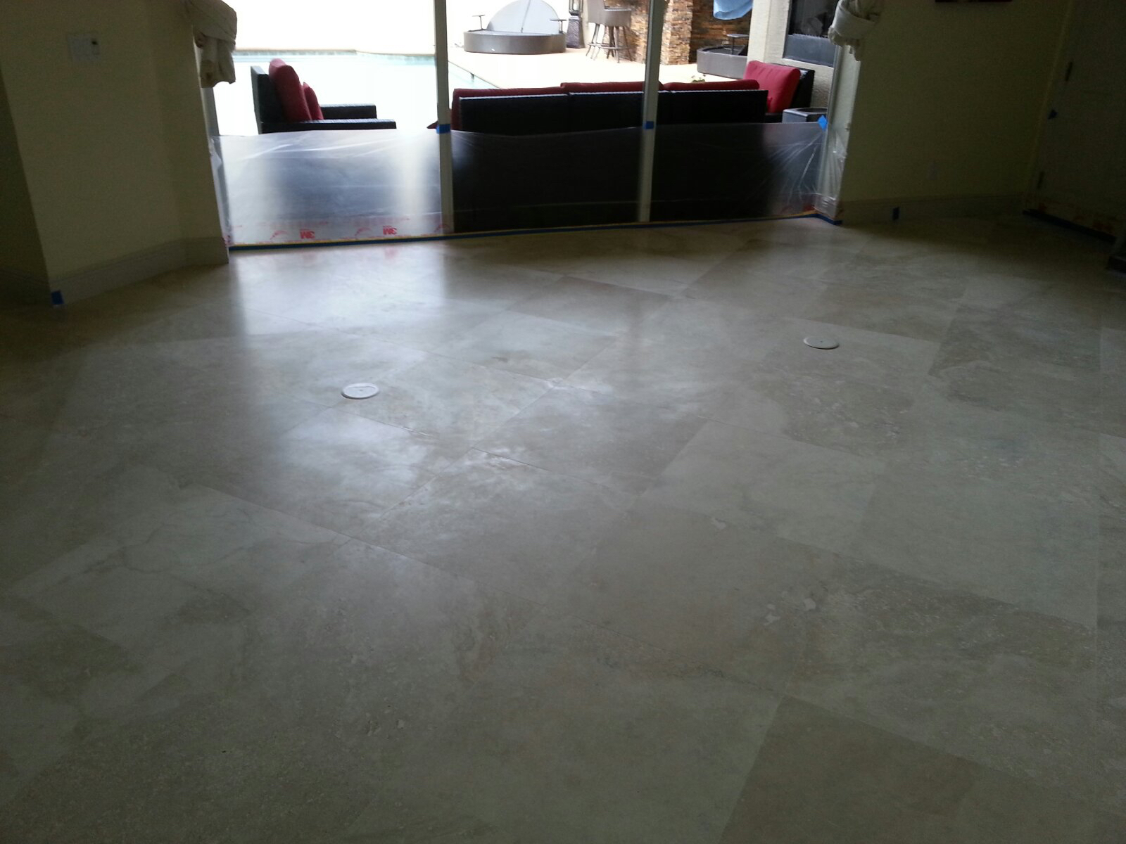 How to polish marble floor tiles
