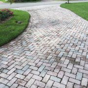 7 before clean and seal concrete pavers