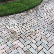 7.3 before clean and seal concrete pavers